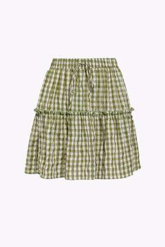 Rika short skirt check
