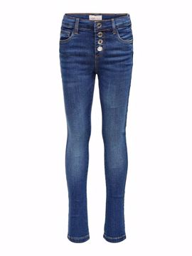 Rose TEEn button jeans