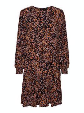 VMSANDRA LS NECK SHORT DRESS
