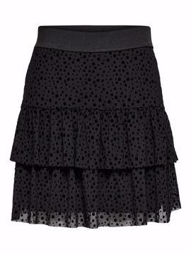 onlsanna short mesh skirt
